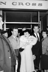 Judy Garland at the Southern Cross Hotel, Melbourne.