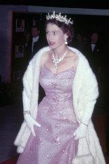 Queen Elizabeth II during a visit to Malta in 1951.