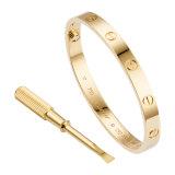Le bracelet Love de Cartier est livré avec un tournevis pour défaire le fermoir.