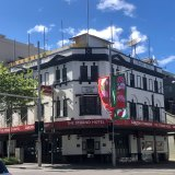 The Strand Hotel,on the corner of William and Crown Streets, Darlinghurst.