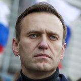 Russian opposition activist Alexei Navalny.