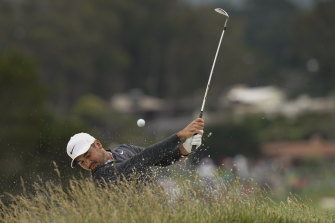 Jason Day is well off the pace, but hasn't given up hope of a late fightback.