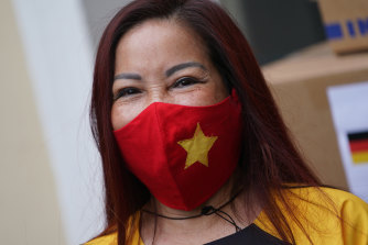 Mask wearing has been key to Vietnam's success against the virus until now.