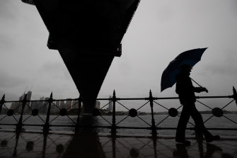 The reopening of NSW on Monday will be accompanied by a deluge of rain and cool temperatures.