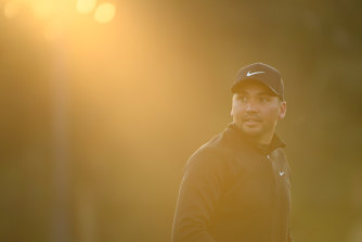 Jason Day had a strong first round at Tiger Woods' PGA event.
