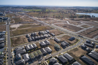 Housing development in South West Sydney - Oran Park