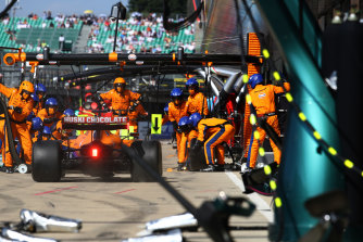 Daniel Ricciardo is still getting up to speed with his McLaren.