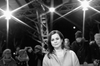 Emily Watson at the 68th Berlinale International Film Festival in 2018.