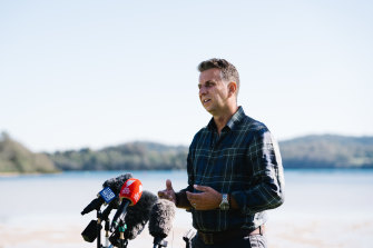 Transport Minister Andrew Constance confirmed he intends to contest the federal seat of Eden-Monaro.