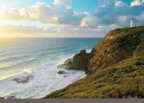 Cape Schanck lighthouse, at the southernmost tip of the Mornington Peninsula.