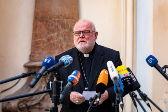 Cardinal Reinhard Marx, the Catholic Archbishop of Munich and Freising, told a press conference that he hoped his resignation could usher in change and reform.