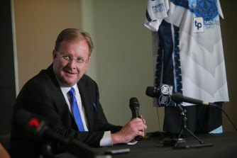 New Sharks boss Richard Munro is bullish but Cronulla rank above only Penrith in terms of travelling support among current NRL clubs.