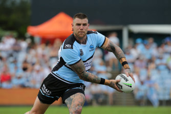 Josh Dugan has been backed to make the most of the centre jersey he's won back by default.