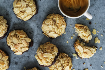 Coconut and almond macaroons.
