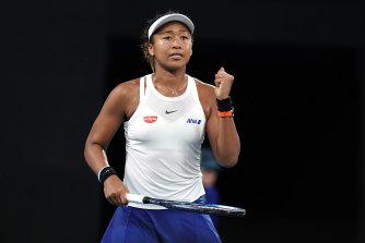 Defending Australian Open champion Naomi Osaka.