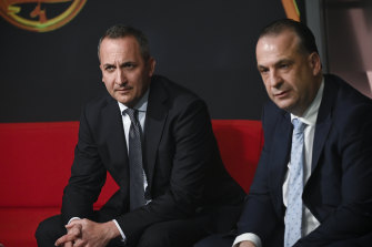 Andrew Abdo and Peter V'landys have addressed the clubs on Thursday.