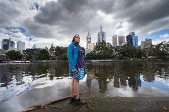 Port Phillip EcoCentre executive director April Seymore.