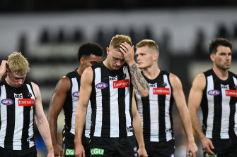 The Magpies are nursing some raw wounds post-season.