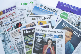 New readership data shows The Sydney Morning Herald was the top title at the start of the financial year.