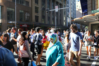 Sixty per cent of Australia's population growth in the past decade has come form migration.