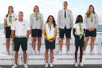 Olympic uniforms usually range from cringe to slightly less cringe. Not this time