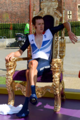 Watch the throne: Bradley Wiggins is highly regarded for his contribution to British cycling.