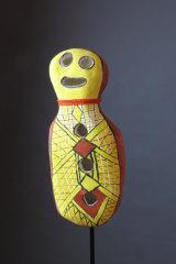 <p>Nephi Denham, Bagu</i> in<i>Clay Stories</i> at Strathnairn Galleries.</p>