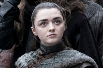 Cop the tip: Arya Stark is a sneaky chance to come out on to top in GoT.