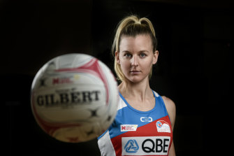 The NSW Swifts' Katrina Rore.