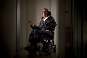 Chris Karadaglis was left paralysed from the neck down.