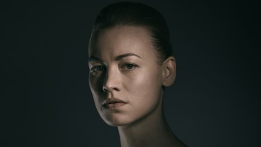 Yvonne Strahovski has become compelling viewing on The Handmaid's Tale.