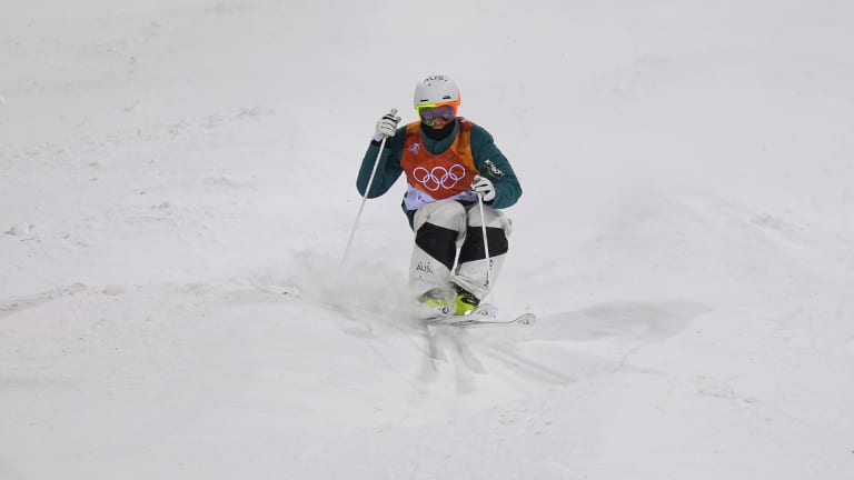 Graham competing in the final.