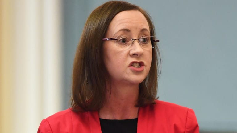 Queensland Attorney-General Yvette D'Ath has not committed to following Tasmanian Labor's lead in announcing they would ban poker machines.