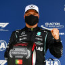 Bottas keeps Hamilton waiting for 100th pole