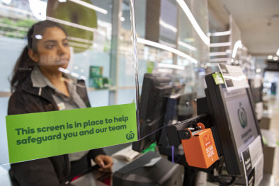 In supermarkets last week spending was up by 19 per cent among lower income consumers