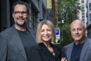 From left: Martin Benn, Vicki Wild and Chris Lucas.