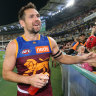 AFL veteran Luke Hodge 'walks away quietly' after Lions' loss to Giants