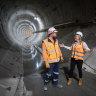 Boring machines finish digging Melbourne's Metro Tunnel