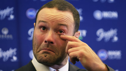 'I don't know if I could have lived with myself': Emotional Cordner retires due to concussion fears