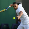 Kyrgios flags Olympics absence as five Australians fire into Wimbledon third round