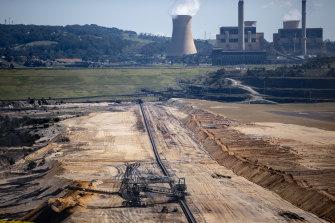 Yallourn power plant.