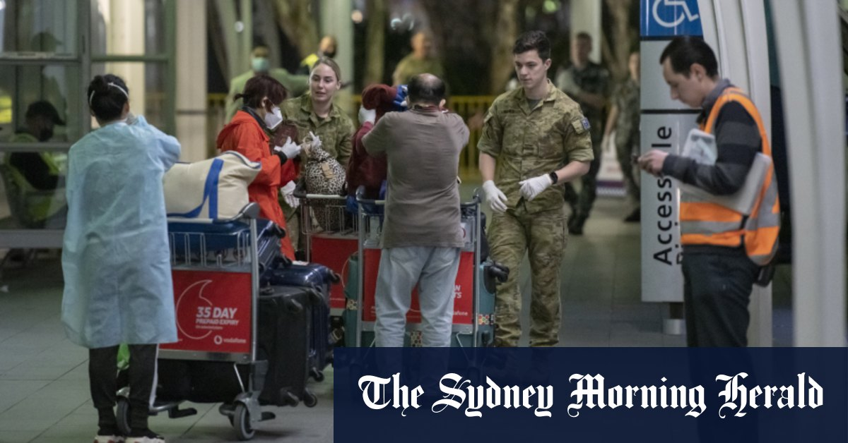 Authorities investigate another possible COVID-19 transmission in hotel – Sydney Morning Herald