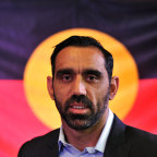 Adam Goodes, who spoke out against racism - and endured a racist backlash.