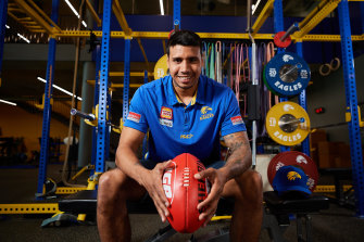 Tim Kelly is finally an Eagle and gets his first competitive chance on Thursday against Essendon.