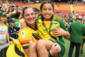 Maroons warrior Hancock puts her hand up for historic Origin clash