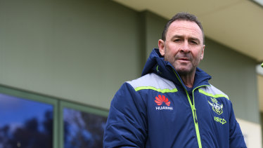 Ricky Stuart's coaching career made a number of stops before he returned to Canberra.