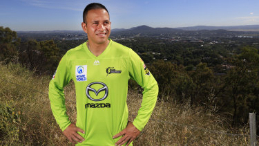 Usman Khawaja is preparing for the BBL rather than a Test recall.
