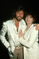 """""""I just put myself in his hands"""": Barbra Streisand with Barry Gibb in 1981"""
