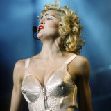 Gaultier created the conical-shaped bras and corsets for Madonna's 1990 Blond Ambition tour.