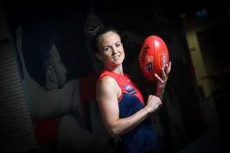 Daisy Pearce is back in action this weekend.